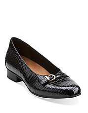 Keesha Raine Patent Leather Flats
