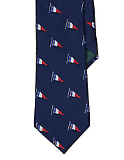 Nautical Flag Silk Tie