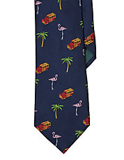 Tropical Silk Tie