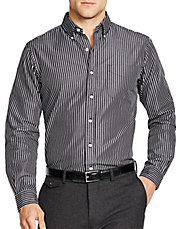 Striped Poplin Mercer Shirt