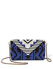 Beaded Tribal Clutch