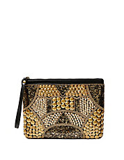 Karmen Beaded Wristlet