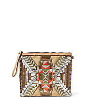 Kaylegh Beaded Wristlet
