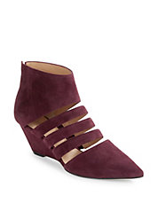 Wilma Suede Wedges