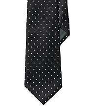 Pin Dot Silk Tie