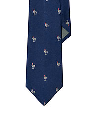 Silk Farmhouse Rooster Tie