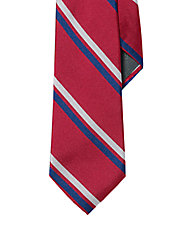 Regency Striped Silk Tie