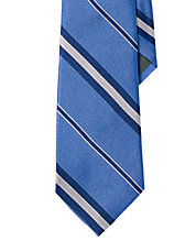Regency Multi-Striped Repp Tie