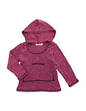 Girls 2-6x Hooded Shirt