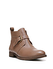 Kindra Leather Ankle Boots