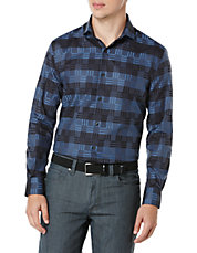 Checked and Striped Sportshirt