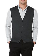 Honeycomb-Stitched Sweater Vest