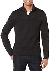 Textured Quarter Zip Jacket