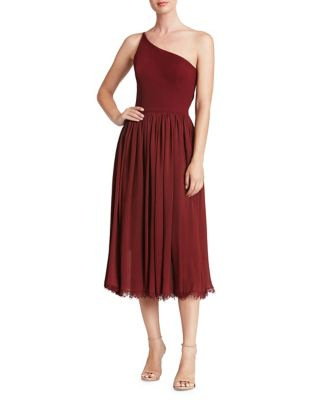 eliza-one-shoulder-midi-dress by dress-the-population