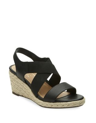Ainsleigh Leather Wedge Sandals by Vionic