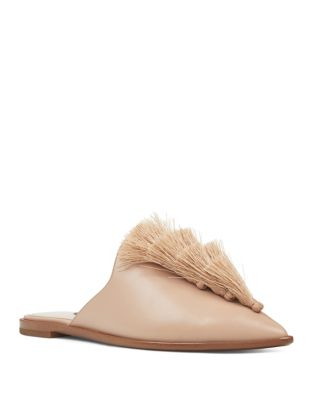 Ollial Leather Mules by Nine West