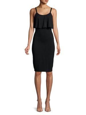 Flounce Sheath Dress by Michael Michael Kors