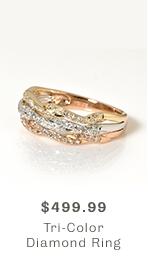 Shop Tri-Color Ring