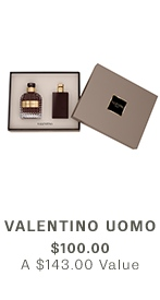 VALENTINO Uomo $100 ($143 VALUE)