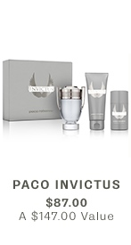 PACO Invictus, $87 ($147 VALUE)