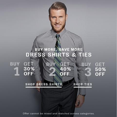 Shop Dress Shirts & Ties