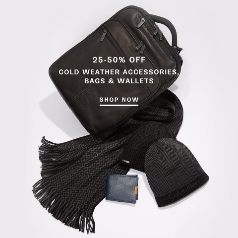 Shop Cold Weather, Wallets & Bags