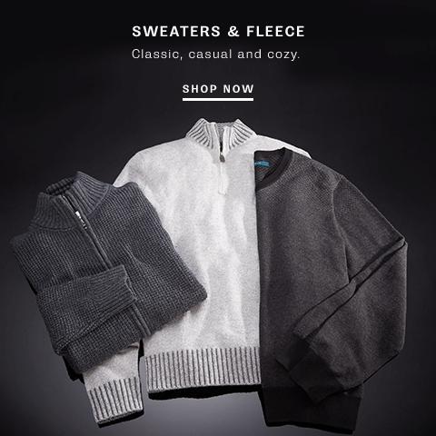 Shop Sweaters & Fleece