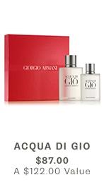 Acqua Di Gio, $87 ($122 VALUE)