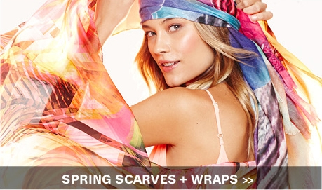 scarves and wraps art of spring