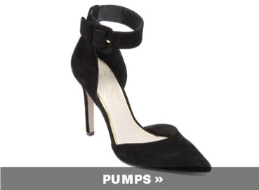 new spring black pumps