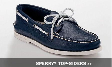 blue sperry top sider boat shoe