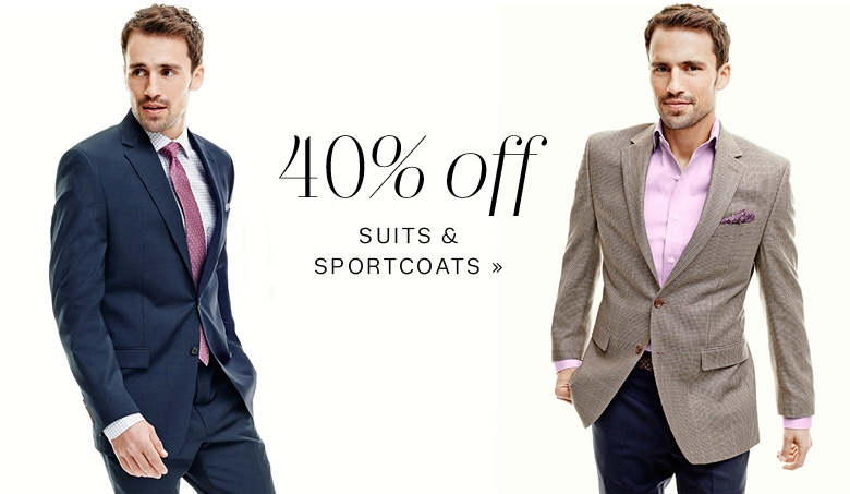 mens sale suits and sportcoats