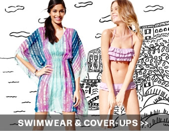 swimwear and cover ups