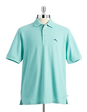 Big and Tall Moisture-Wicking Polo Shirt