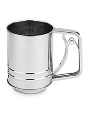 3-Cup Stainless Steel Sifter