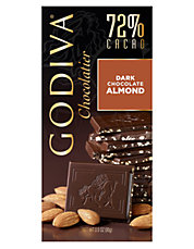 72% Cacao Dark Chocolate with Almonds