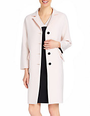 Collared Lady Coat