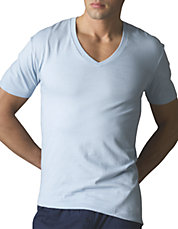 Three-Pack Cotton Crew Neck T-Shirts