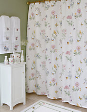 Butterfly Meadow Shower Curtain