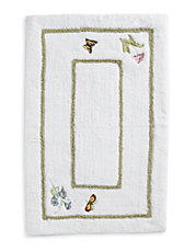 Butterfly Meadow Bath Rug