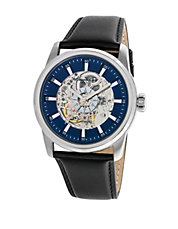 Automatic Stainless Steel Skeleton Dial Watch