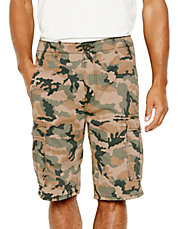 Ace Cargo Shorts  British Khaki