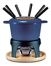 11-Piece Cast Iron Fondue Set
