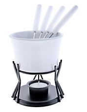 Seven-Piece Kindle Fondue Set