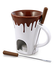 Four-Piece Fondue Mug Set