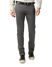 Skinny Tapered Twill Pants