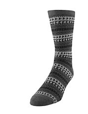 Fairisle Crew Socks