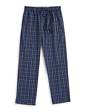 Printed Poplin Sleep Pants