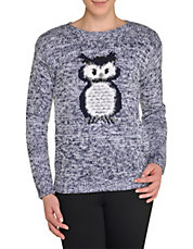 Wise Owl Pullover Sweater
