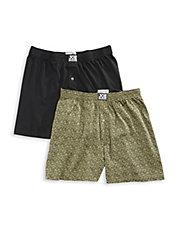 2 Pack Loose Cotton Boxers